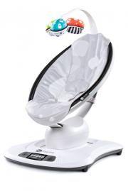 4MOMS Lehátko mamaRoo™ Bluetooth - silver plush