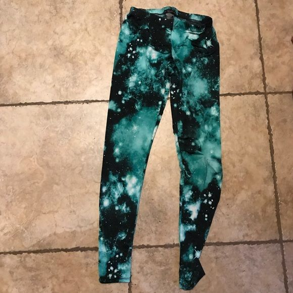 60% off See You Monday Pants - See You Monday -Galaxy Pants from Taylor's closet on Poshmark