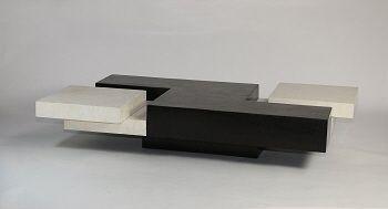 Moderne salontafel zwart