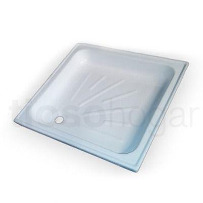 Receptaculo Plato Ducha Piso Box Baño 70 70x70 Rectangular - $ 585,00 en MercadoLibre