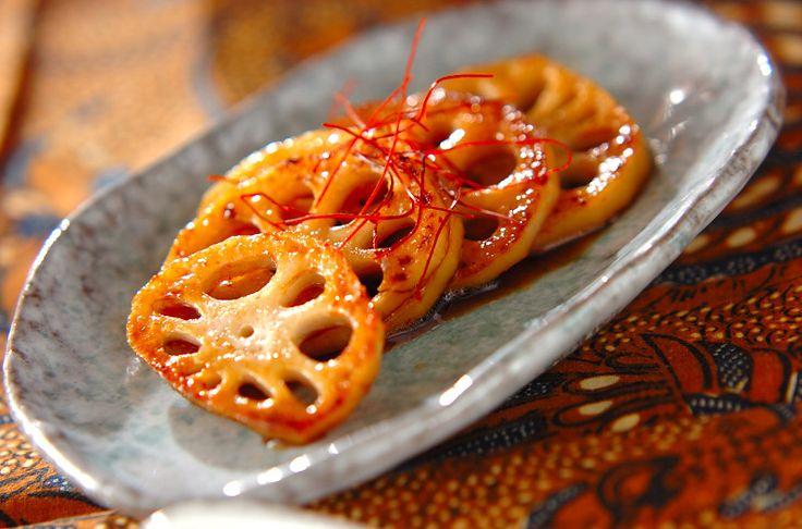 焼きレンコンマリネのレシピ・作り方 - 簡単プロの料理レシピ | E・レシピ