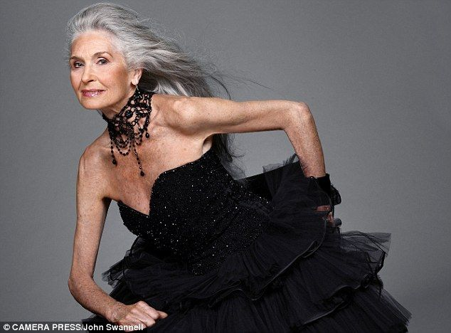 Daphne Selfe - 83 year-old working model@.com