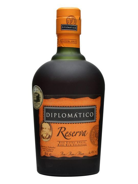 Diplomatico - Reserva A top-drawer Venezuelan blend of potstill and continuous still rum. At the local WHISKY event, this RUM booth had a huge lineup for tastings!