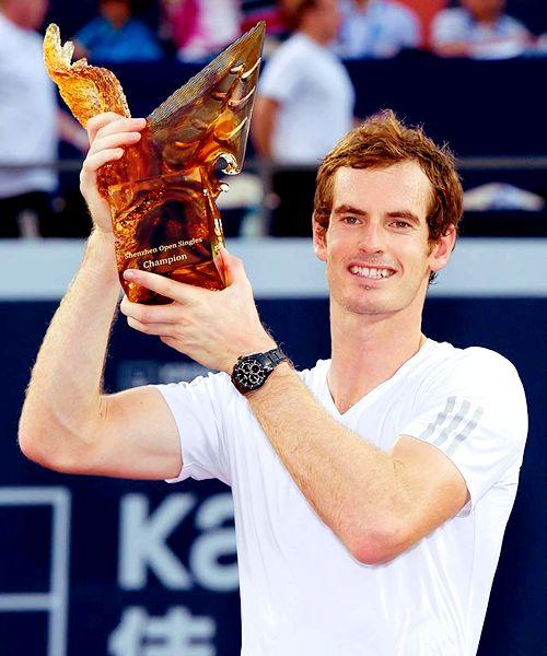 2014 Shenzhen Open Champion; Andy Murray