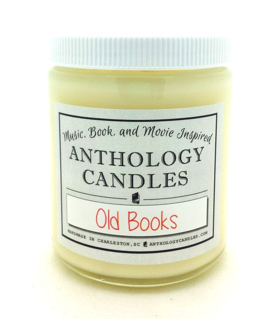 For those who adore the scent of old books, this candle is for you! Weve captured that aged, musty, dusty, deliciously old scent and bottled it!
