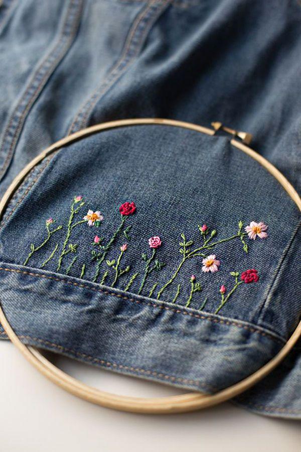 Многообразный декор джинсовых курток: 50 интересных вариантов - Ярмарка Мастеров - ручная работа, handmade