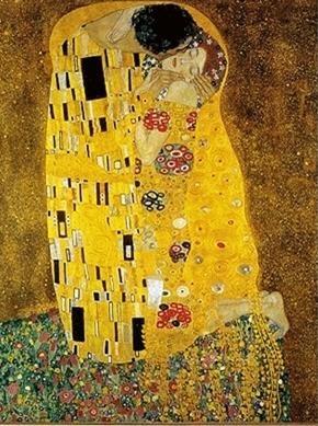 구스타프 클림트(Gustav Klimt)의 키스(The Kiss) / 1907-1908 / 오스트리아 미술관 소장