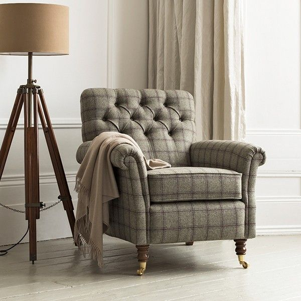 Foxwood occasional armchair, Althrop check