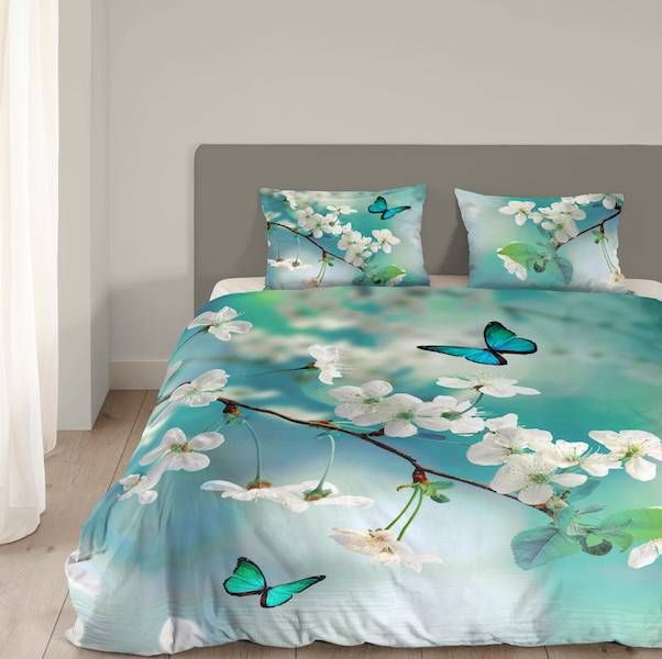 Good Morning Blossom - Aqua - Dekbed-Discounter