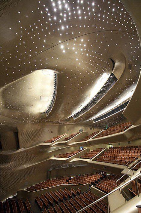Guangzhou Opera House, Guangzhou, 2010 by Zaha Hadid -architecture opera design theatre.