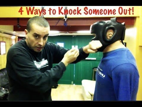 4 Ways to Knock Someone Out - Street Tested and Proven Self Defense #selfdefense #selfdefensetips