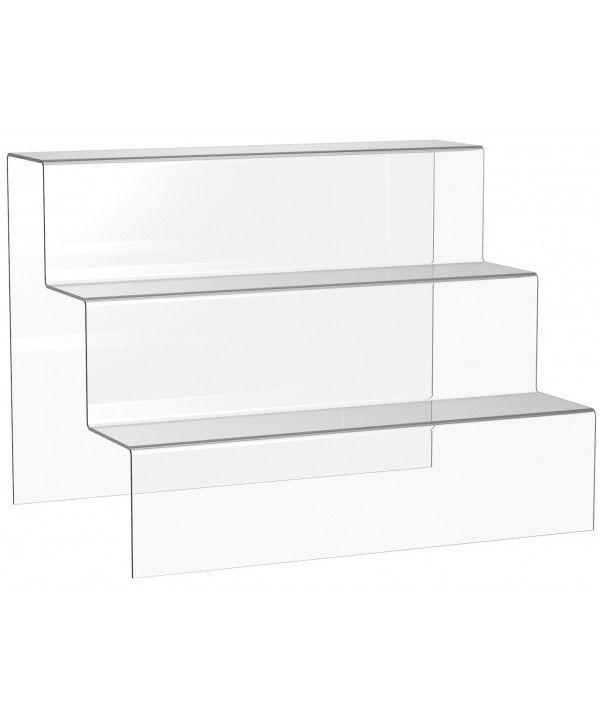 3 Tier Acrylic Display Step Acy 1 31 Display Shelving In