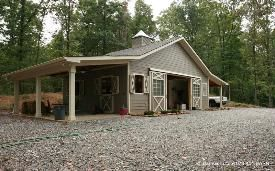 Horse Barn Plans Barn Guru LLC - this is the perfect size & set up I'm looking for!