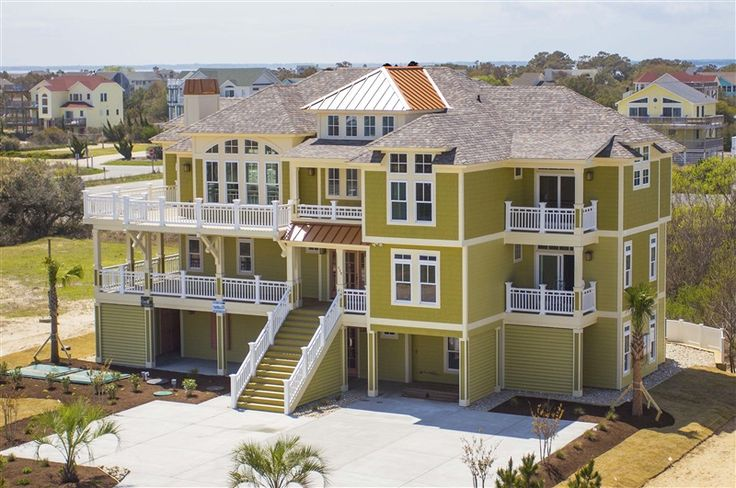 32 best obx new vacation rentals images on pinterest for Beach house plans outer banks