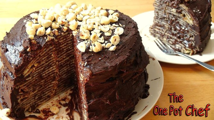 you ll put on weight just looking at my no bake chocolate nutella crepe cake but it s worth it