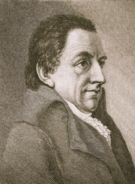 Johann Gottlob Fichte (1762-1814) was een van de belangrijke medewerkers van Doe Horen