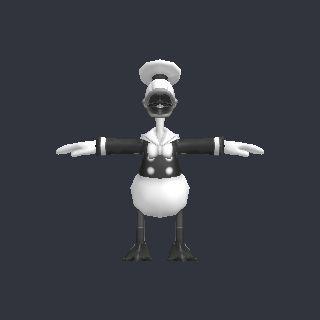 duck free 3D model Toon_Donald.obj vertices - 1382 polygons - 2752 See it in 3D: https://www.yobi3d.com/v/bNAeHKgs2P/Toon_Donald.obj