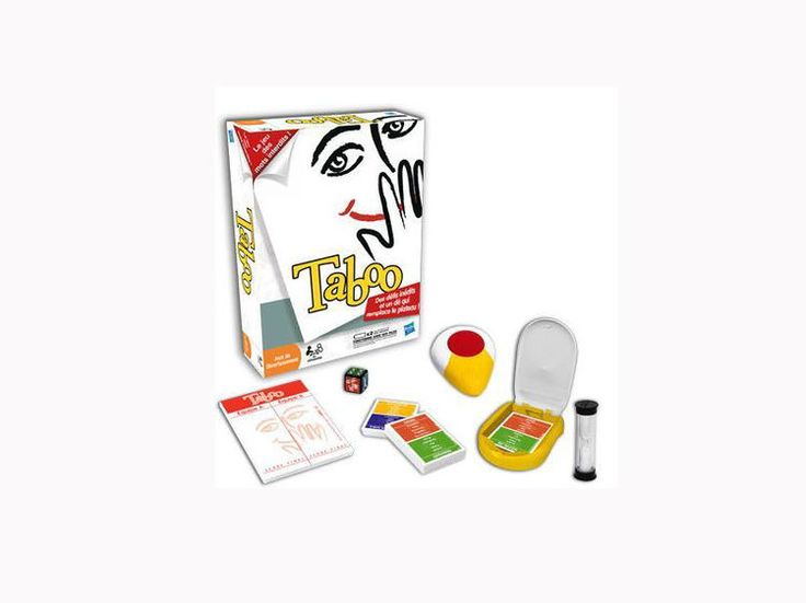 Le Taboo, games to play with the kids so they learn