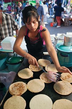 Gorditas de Huevos. These savory gorditas, stuffed with chile-spiced scrambled eggs, make a great breakfast meal or afternoon snack.