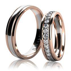 Snubní prsten, model č. BD03