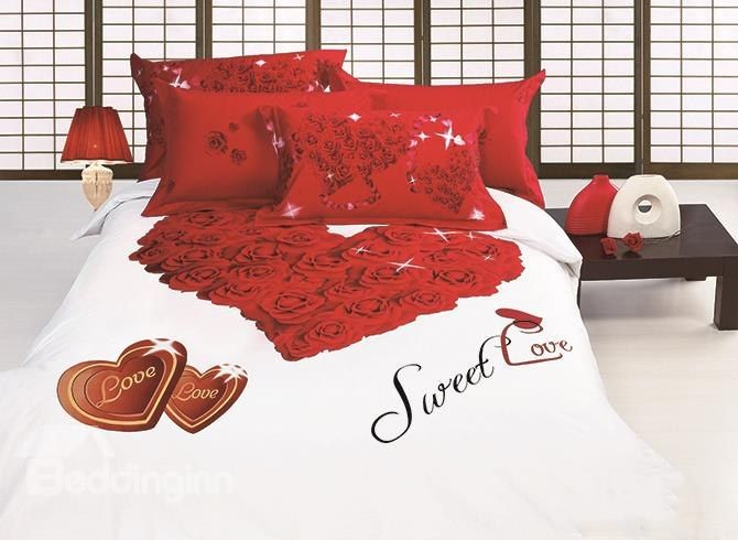 Funk N Heart With Love Themed Bedding Funky Bedroom Decor Simple Bedroom Decor Funky Bedding