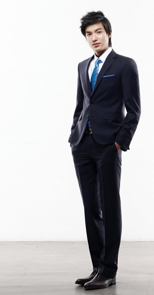 Lee Min Ho Fashion formal young male style