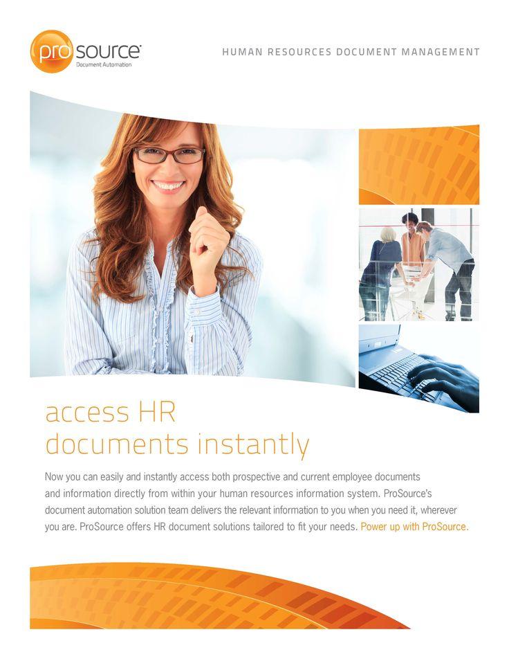 Human Resources #Document #Management Overview http://bit.ly/docautoHR