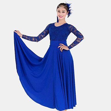 Blaues langes sommerkleid