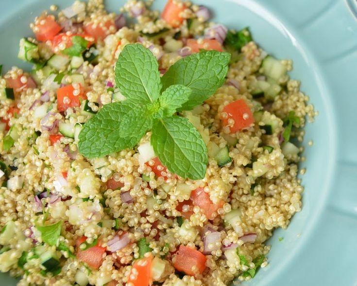 Cantinho Vegetariano: Tabule de Quinoa (vegana) Mais