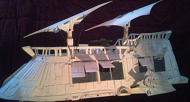 McRobo Creations - Star Wars Jabba's Sail Barge, Unpainted Deluxe Kit, $880 US