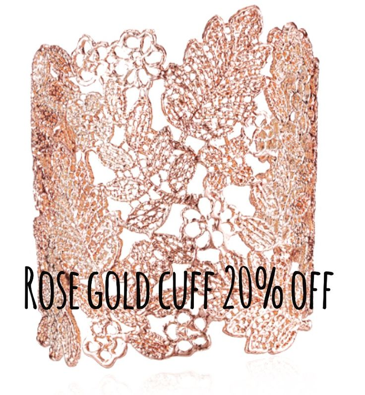 Rose gold arm cuff only $28 with 20% discount on first time order! Also comes in black and silver. Enter discount code SWSK2DIS at checkout #rosegold #cuff #bohemian #bohochic #wedding #Jewelery #boho