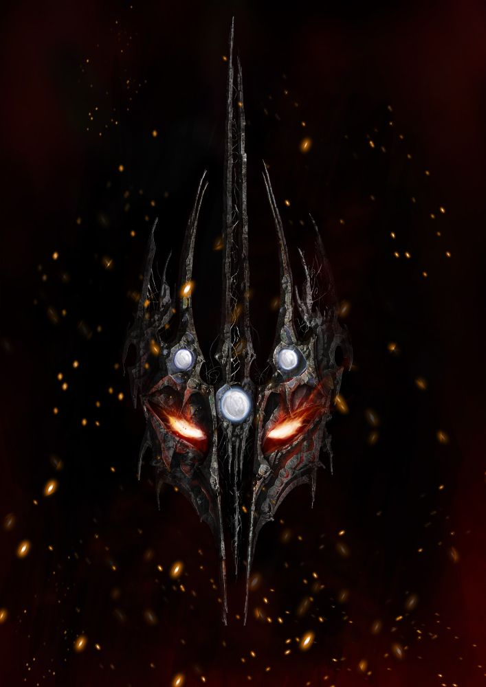 Melkor. No picture can portray the terrible majesty of the one true Dark Lord, Morgoth. Tyrant of Utumno, Lord of the Balrogs, Master of Sauron, Creator of the Orcs, and Mightiest of the Ainur. He will return.