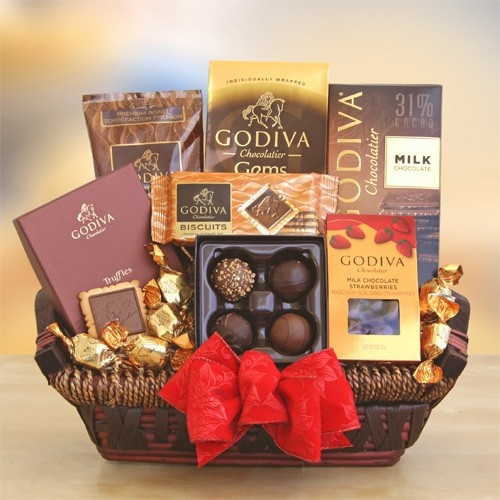 Chocolate gift baskets 28 pinterest godiva signature collection negle Gallery