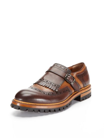 Kilt Monkstrap Shoes by Antonio Maurizi