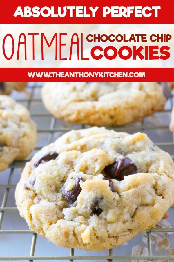 peanut butter oatmeal chocolate chip cookies recipe oatmeal chocolate chip cookies chocolate chip cookies oatmeal chocolate chip cookie recipe pinterest