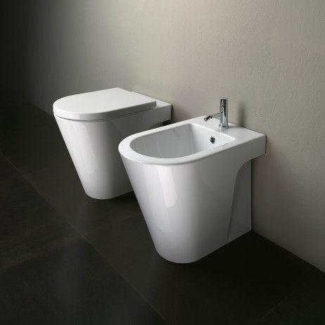 Zero 55 Complete Floor Mount Toilet Suite