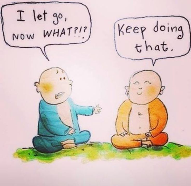 Whenever I try to meditate lol