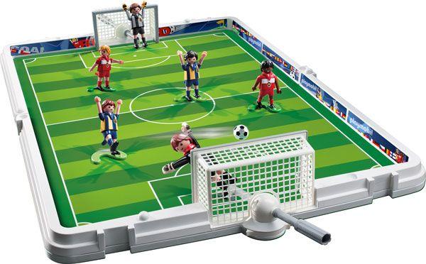 Große Fußball-Arena von PLAYMOBIL