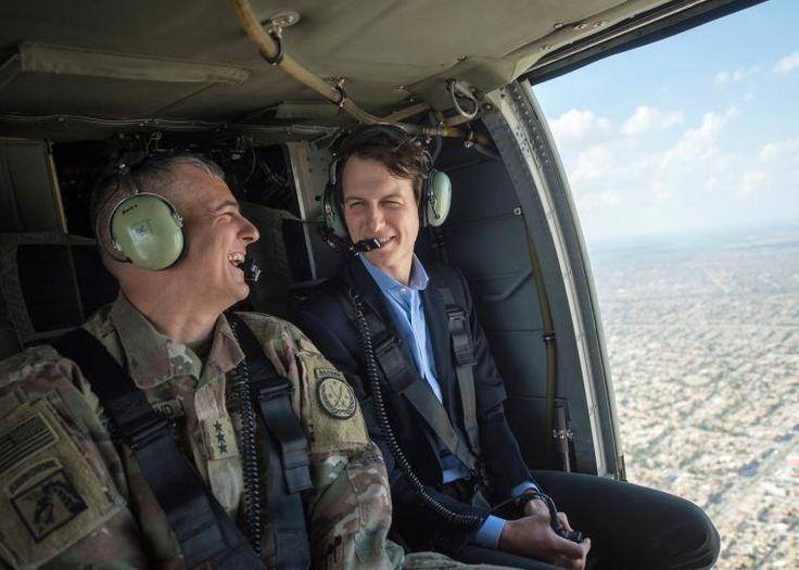 #world #news  In Iraq, Trump's son-in-law, Jared Kushner, upbeat on Mosul