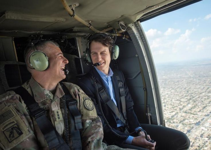 #world #news  In Iraq, Trump's son-in-law, Jared Kushner, upbeat on Mosul