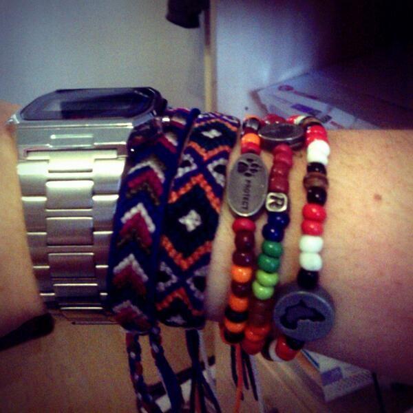 #stackandshare cause bracelets from design indaba