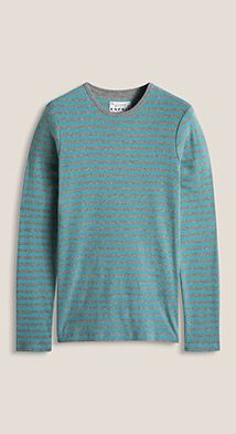 Esprit / Ribbed striped long sleeve top