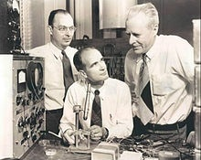 John Bardeen, William Shockley and Walter Brattain - inventors of the Transistor