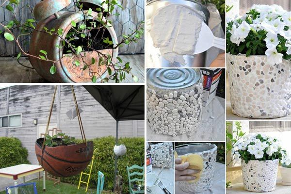 Recycling and reusing are green ways to help the planet. This article is dedicated to whimsical recycled plant containers that made from many useless household objects. As long as those old things can support soil and allow for drainage, you can reuse almost anything for planters, from plastic bottles, floppy dicks, old books… to old […]