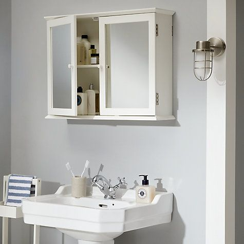 st ives double mirrored bathroom cabinet - Bathroom Cabinets John Lewis