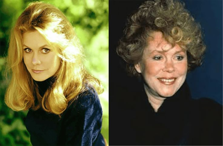 Elizabeth Montgomery, Then and Now