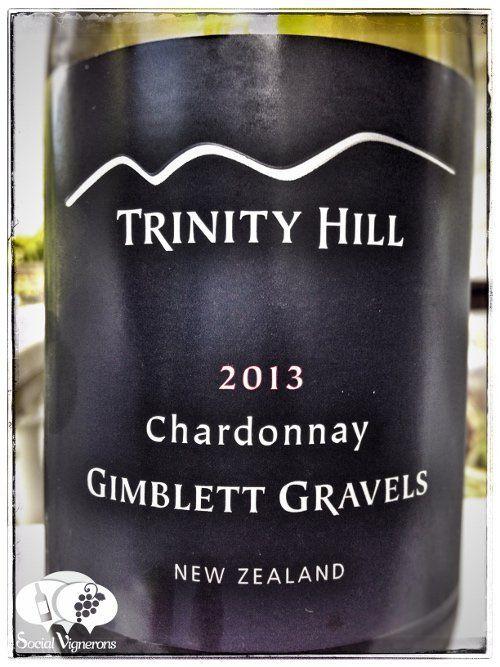 2013 Trinity Hill Gimblett Gravels Chardonnay Hawkes Bay New Zealand front label wine social vignerons small