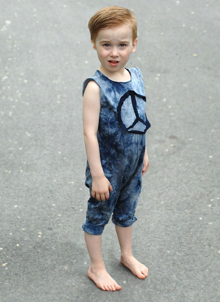 Boy hand made jumpsuit bamboo and vintage peace and love baby and toddler 0-6 www.lezalie.com canadian store