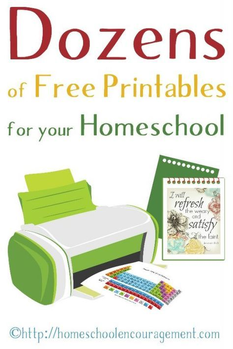 Free Printables for Your Homeschool. Free Worksheets for Kids. Free Scripture Cards for Mom.