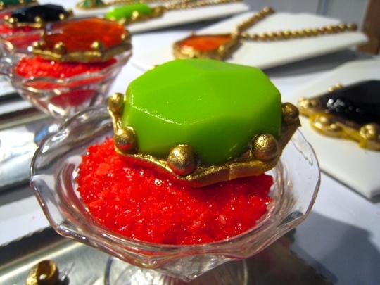 Jell-O that looks like jewelry?